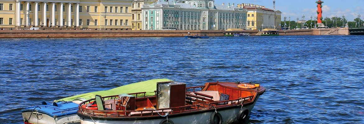 St. Petersburg - Newa - Panorama